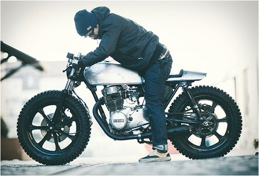 YAMAHA XS360 | BY THE HOOKIE