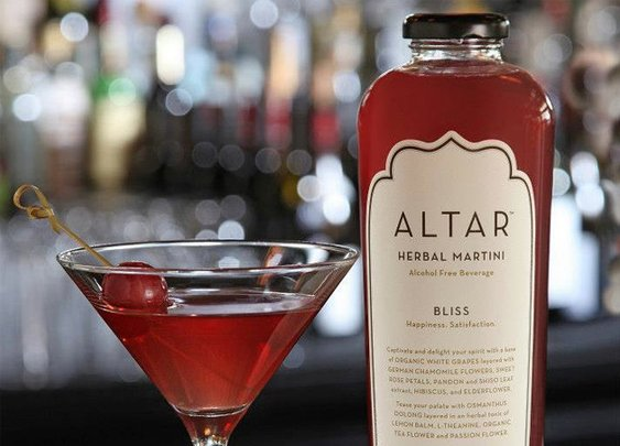 Altar Herbal Martini  |  A World Of Flavor