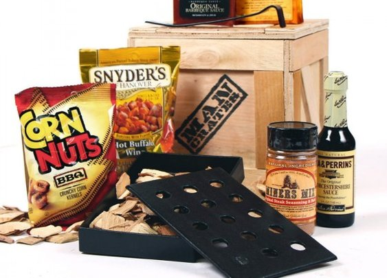 The Hickory Grilling Man Crate- because smoke is the best thing to happen to meat since fire | Man Crates