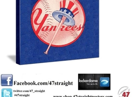 New York Yankees Father's Day Gifts, New York Yankees wall art