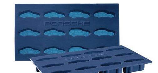 Porsche Ice Cube Tray Mold Creates Frozen Porsche Cars