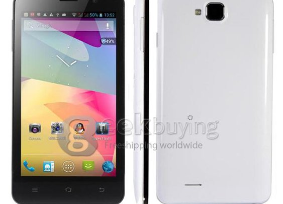 Freelander I30 5.0 Inch MTK6589 Quad Core Smart Phone 720P IPS Screen 1GB RAM+8GB ROM Android 4.2 with 3G GPS White - GeekBuying.com