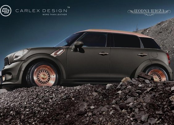 Mini Countryman-Steampunk