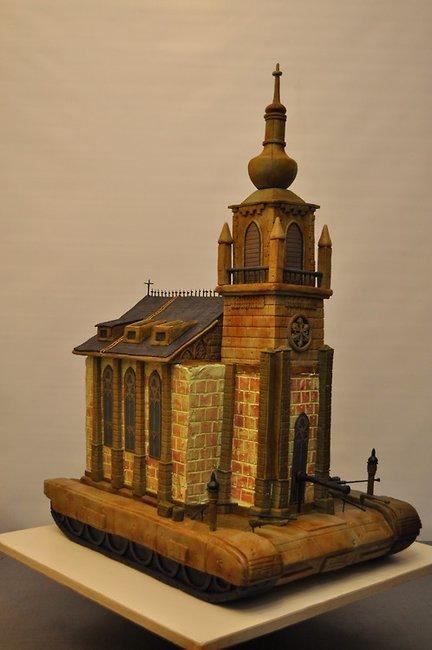 Church Tank Cake