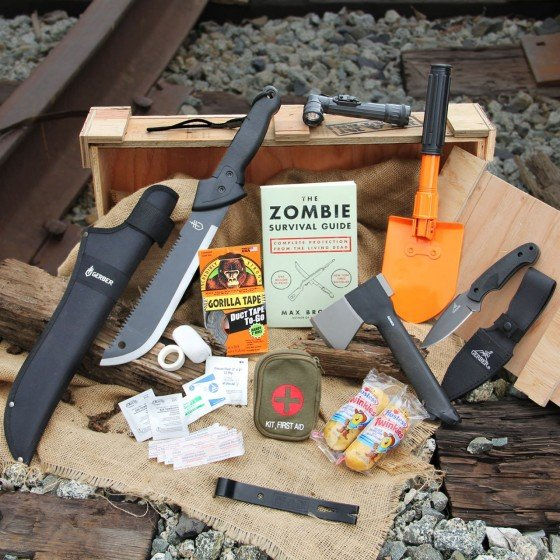 Zombie Annihilation Crate - Man Crates Store | Man Crates