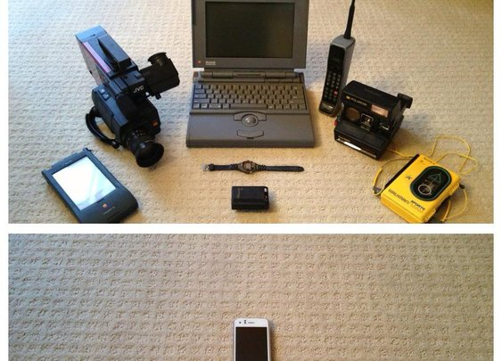 Technology in 1993 vs. 2013