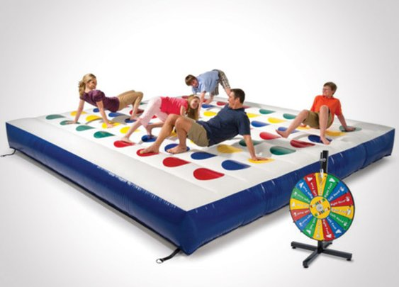 Outdoor Inflatable Twister Game - Headlines & Heroes