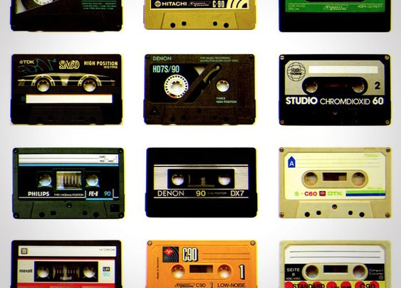 Retro Post 1980: Cassette Tape
