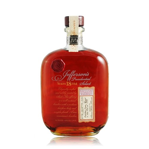Bourbon of the Month: Jefferson's Presidential Select 18 Year
