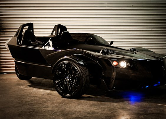 TORQ Electric Three-Wheel Roadster - mikeshouts