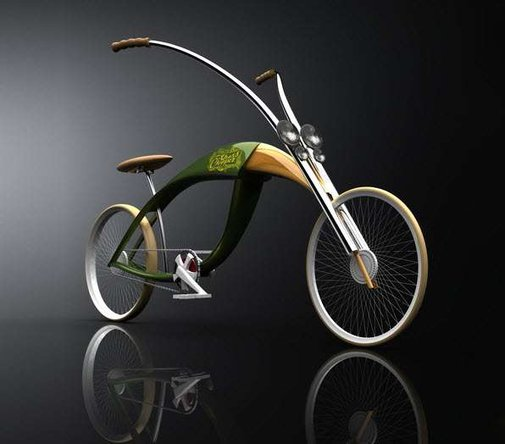 Insect-Inspired Bicycles - The Grass Chopper by Mateusz Chmura is Buggy but Beautiful (GALLERY)