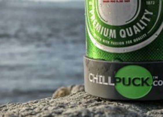 Chill Puck: Keep Beer Colder, Longer
