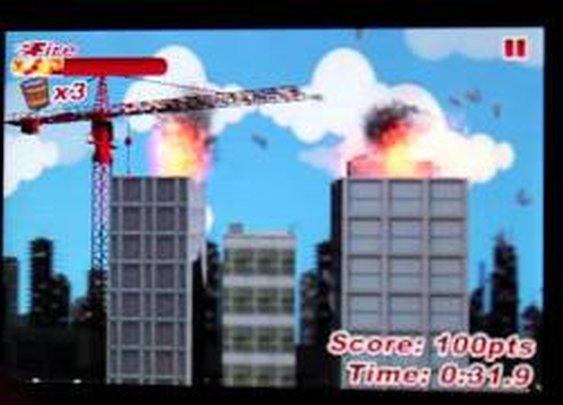 Bucket Brigade Firefighting Game Demo - YouTube