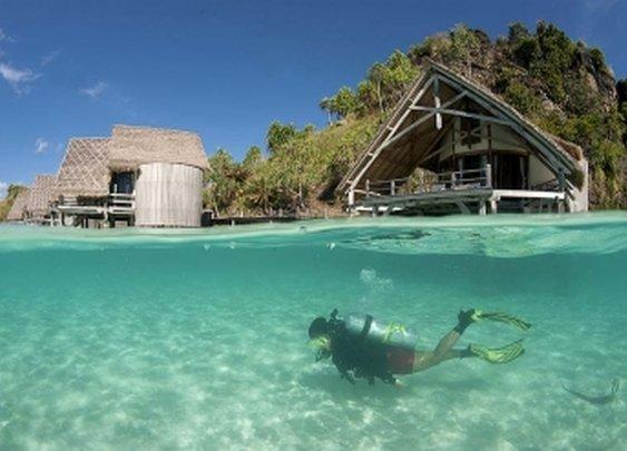 Private island | Misool Eco Resort in Kampung Baru, Sorong, Raja Ampat, Indonesia