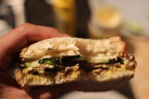 AoM Month of Sandwiches Day #10: Black Bean Veggie Sandwich | The Art of Manliness