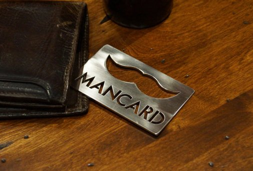 The Man Card - The only card your wallet needs