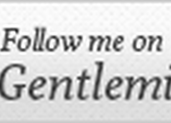 Follow Me on Gentlemint sign