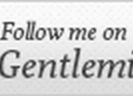 Follow Me on Gentlemint sign