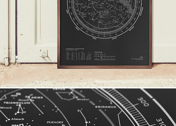 Stellar Map Silkscreen Prints