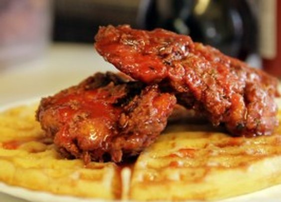 Fried Chicken Waffles : Recipes : Cooking Channel