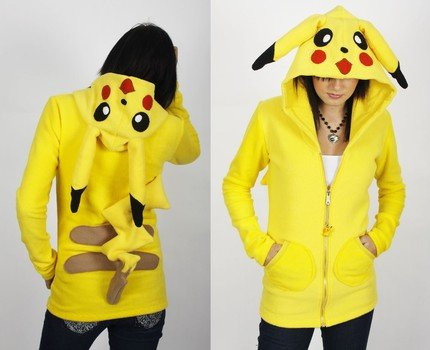 Pikachu Hoodie by Erosdiy
