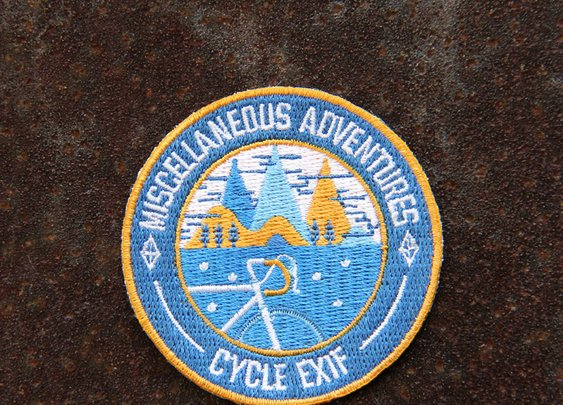 Cycle EXIF — Miscellaneous Adventures x Cycle EXIF Honor Patch