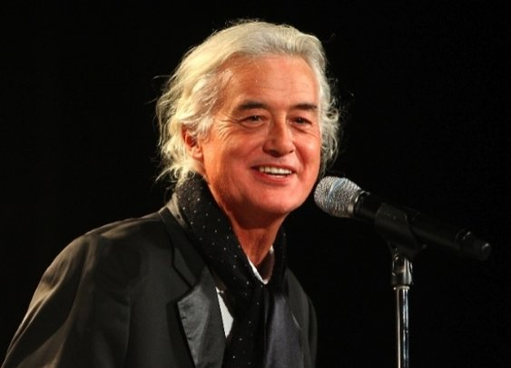 Jimmy Page doesn't age