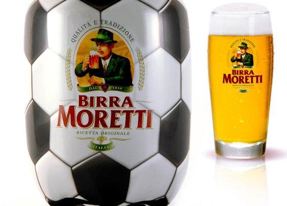 Creative Package Design: Moretti Ball