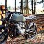 Honda CB750 Scrambler by Left Hand Cycles