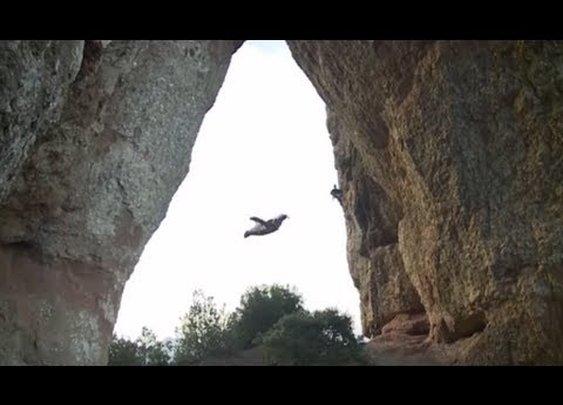 Unbelievable Wingsuit Cave Flight! Batman Cave, Alexander Polli - YouTube