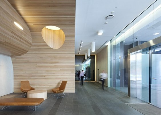 Green Square North Lobby Design by Design by Geyer