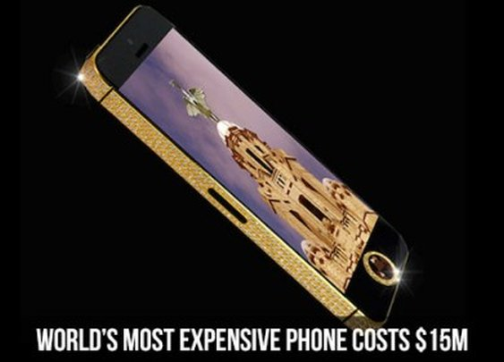 World's Most Expensive Phone Costs $15M