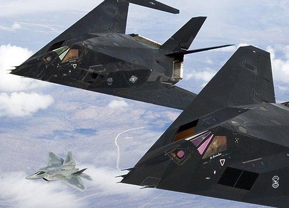 F-117 & F-22