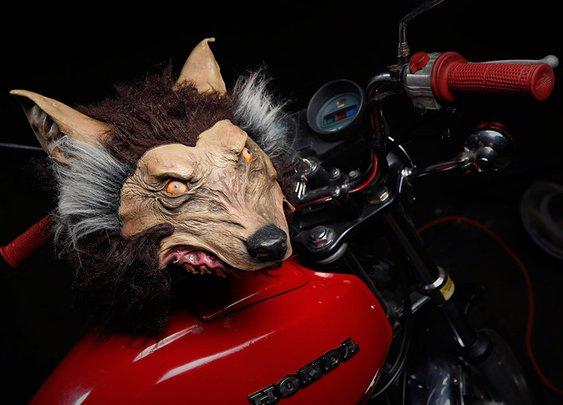 Wolf Helmet | Uncrate