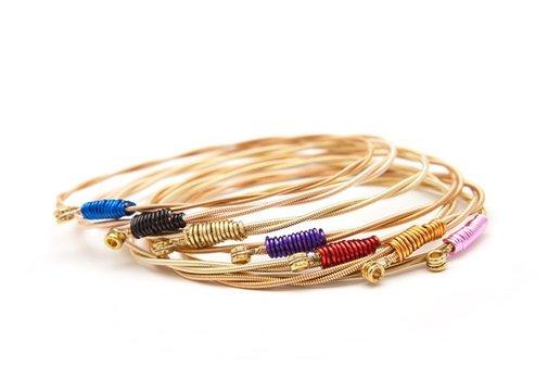 Rock Recycled Strings Bracelets   Man of Many