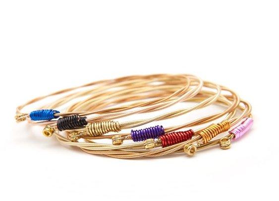 Rock Recycled Strings Bracelets | Man of Many