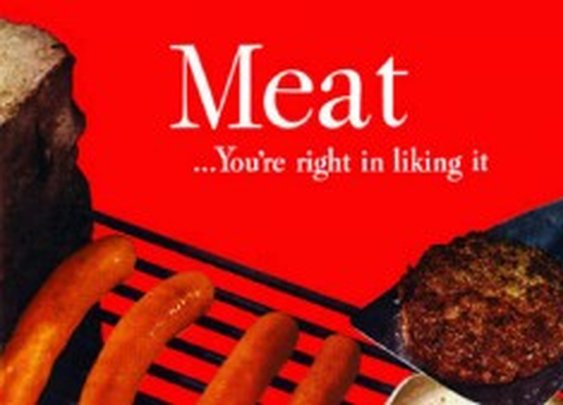 Vintage Meat Adverts