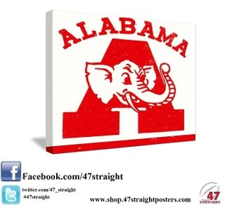 Alabama Father's Day Gifts. Alabama Crimson Tide Art. 47 STRAIGHT.™