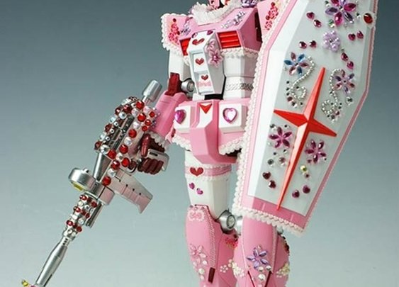 WTF of the day – Pink Barbie Gundam | Ufunk.net