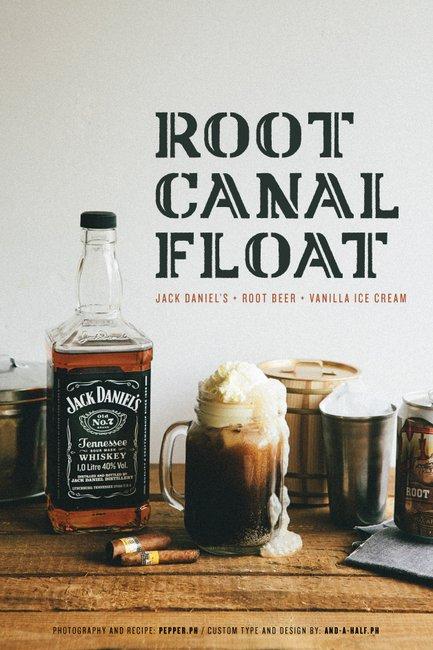 Jack Daniel's Root Beer Float