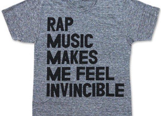 Print Liberation Store — RAP MUSIC MAKES ME FEEL INVINCIBLE