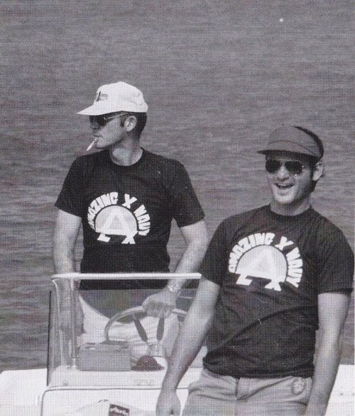 Hunter S. Thompson and Bill Murray   ThisIsNotPorn.net - Rare and beautiful celebrity photos