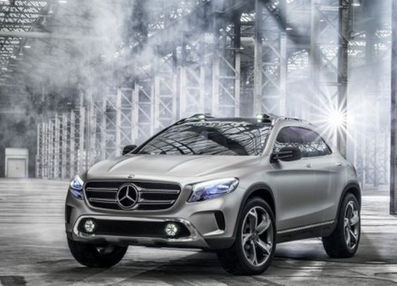 Mercedes Debuts New Compact GLA SUV | LUXUO Luxury Blog