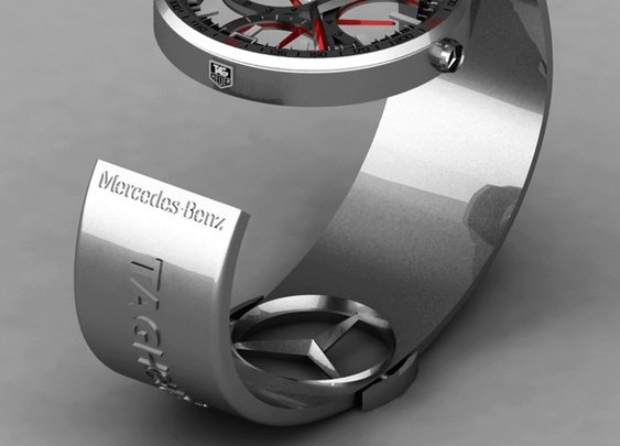 TAG-Heuer Formula 1 Watch Concept by Peter Vardai