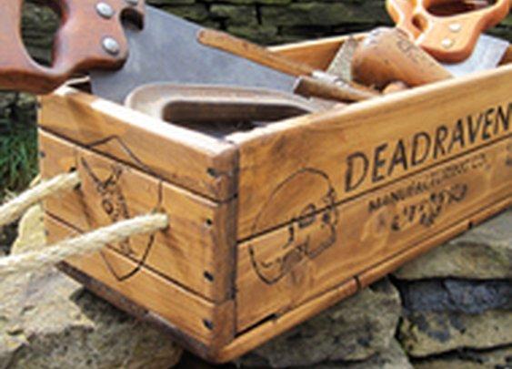 Wooden Box - Folksy