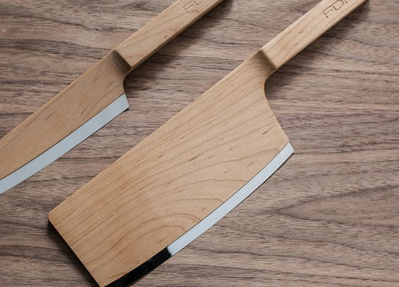 Maple Kitchen Knives