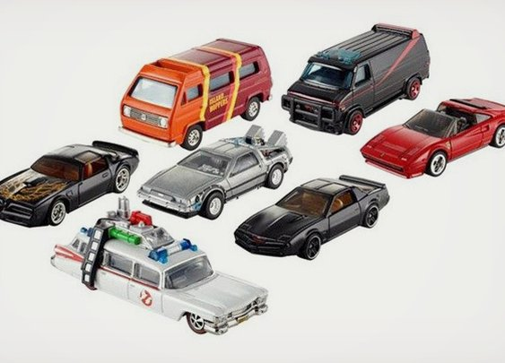 Hot Wheels Pop Culture Cars