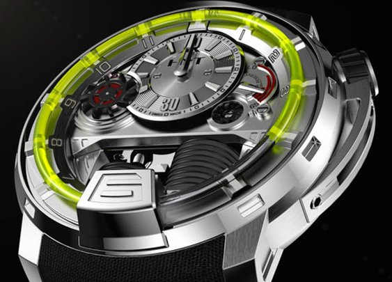 Just because they could – US$45,000 piston-powered liquid watch