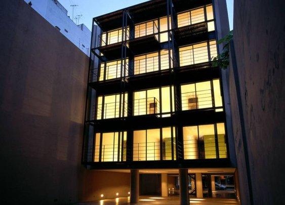 Buenos Aires Housing Block Designed by Canda Gazaneo Ungar Arquitectos