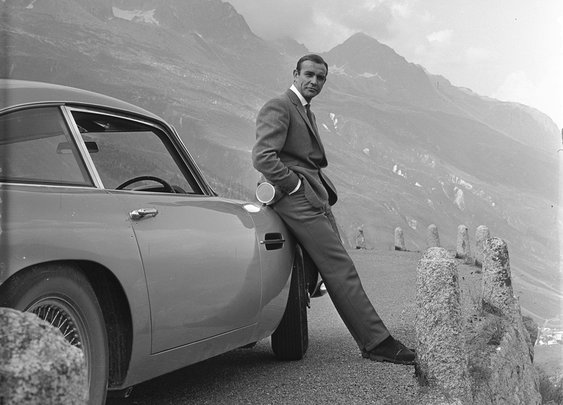 Sean Connery and his DB5